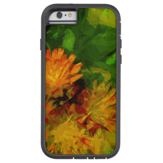 Orange Hawkweed Wildflower Abstract Impressionism Tough Xtreme iPhone 6 Case