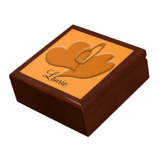 Orange Heart Connection Gift Box