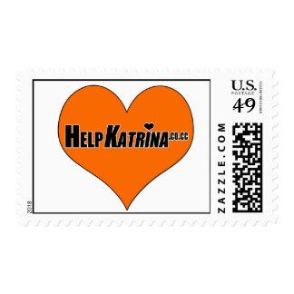 Orange Heart Stamps