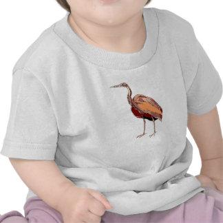 Orange Heron T Shirts