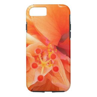 Orange Hibiscus iPhone 7 Case