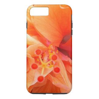 Orange Hibiscus iPhone 7 Plus Case