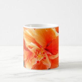 Orange Hibiscus Mug