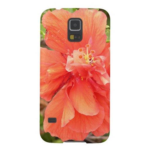 Orange Hibiscus Samsung Galaxy Nexus Case