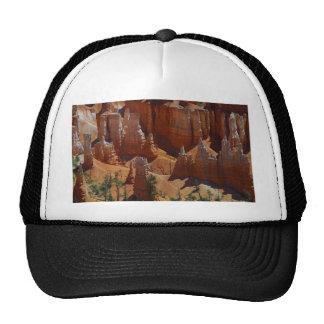 Orange Hoodoos Bryce Canyon Sand Deserts Mesh Hats