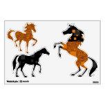 Orange horse Mr. Ed Black Beauty wild west rodeo Wall Graphic