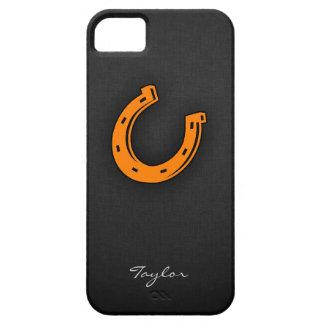 Orange Horseshoe iPhone SE/5/5s Case