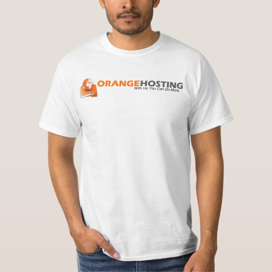 Orange Hosting T-Shirt