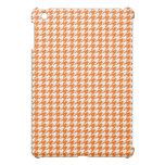 Orange Houndstooth Case For The iPad Mini