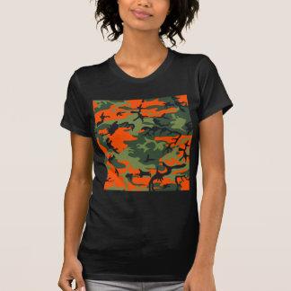Orange Hunter Camo Shirt