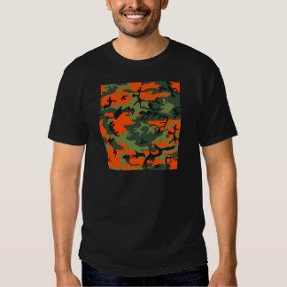 Orange Hunter Camo Tee Shirt