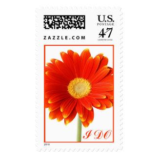Orange I DO Stamp