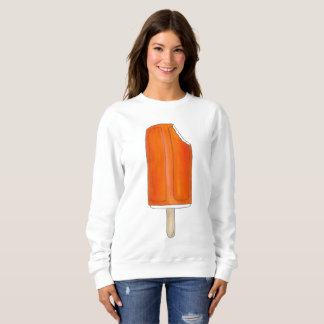 Orange Ice Cream Creamsicle Popsicle Sweatshirt