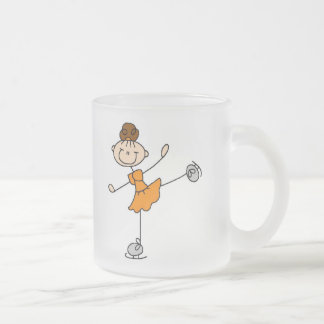 Orange Ice Skating Girl Mug