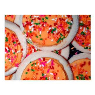 Orange Iced Sugar Cookies Post Cards