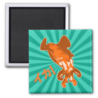 Orange Ika Magnet