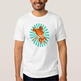 Orange Ika T Shirt