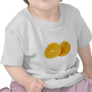 Orange in halves tshirt