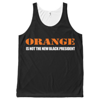 Orange is not the new Black President - - - .png All-Over Print Tank Top