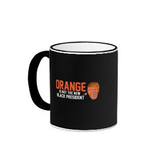 Orange is not the new Black President - - .png Ringer Mug
