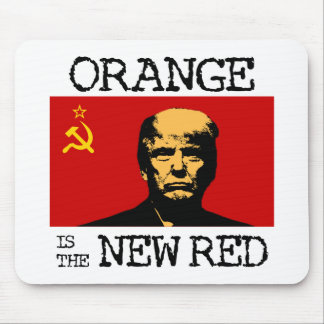 Orange Is The New Red Mouse Pad