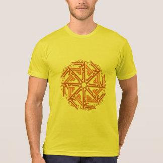 Orange Islamic Decoration Men's T-Shirt