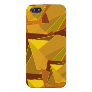 Orange Jagged Phone Case iPhone 5/5S Case