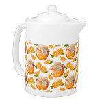 Orange Jam Teapot