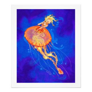Orange Jellymaid Photo Print