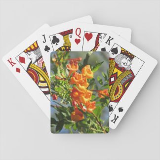 Orange Jubilee Poker Cards