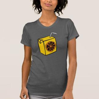 Orange Juice Box Womens T-Shirt