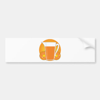 Orange Juice Bumper Sticker