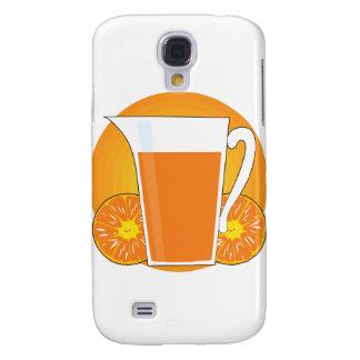 Orange Juice Galaxy S4 Cover