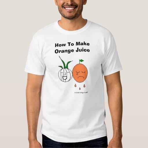 Orange_juice, How To Make Orange Juice, (c) 200... T-shirt