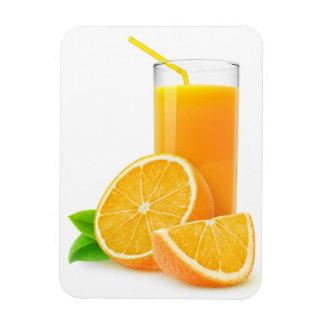 Orange juice magnet