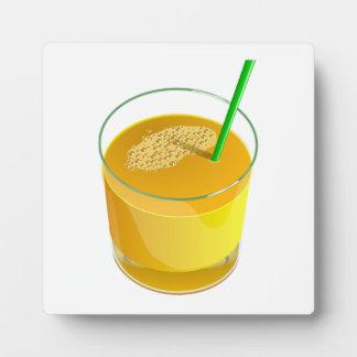 Orange Juice Plaque