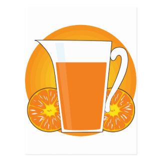 Orange Juice Postcard