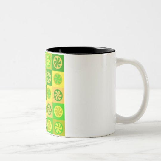 Orange Kiss Two-Tone Coffee Mug