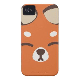 Orange Kitsune Fox iPhone 4 Covers