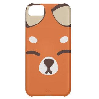 Orange Kitsune Fox iPhone 5C Covers