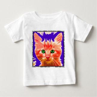 Orange Kitty Baby T-Shirt