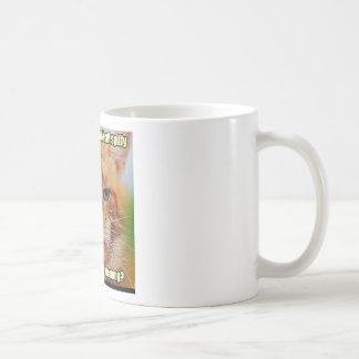 Orange Kitty Coffee Mug