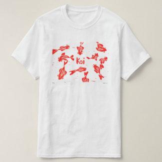 Orange Koi Linocut T-Shirt