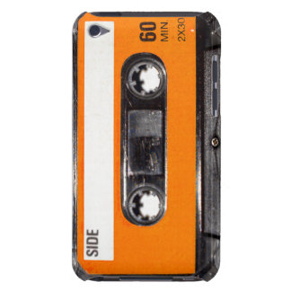 Orange Label 80 s Cassette Barely There iPod Cover