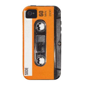 Orange Label 80's Cassette Case-Mate iPhone 4 Covers