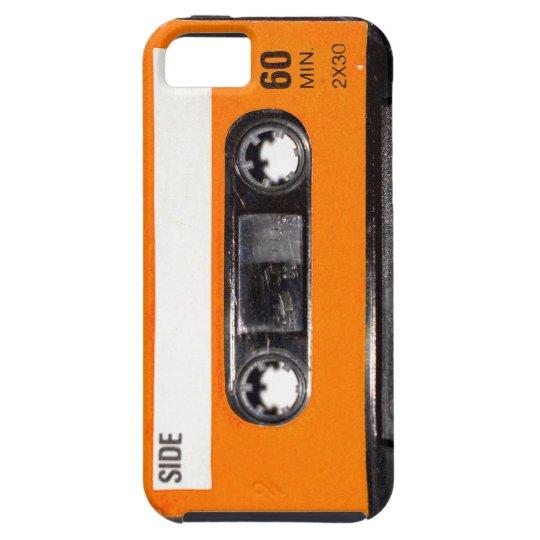 Orange Label 80's Cassette iPhone SE/5/5s Case