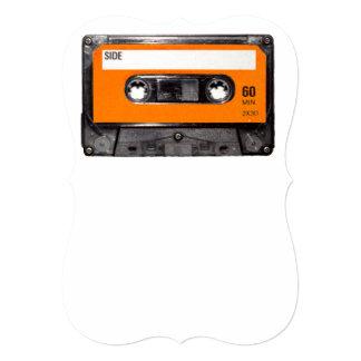 Orange Label Cassette Card