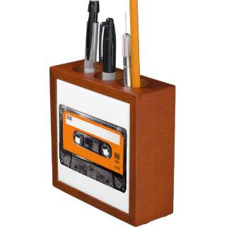 Orange Label Cassette Pencil Holder