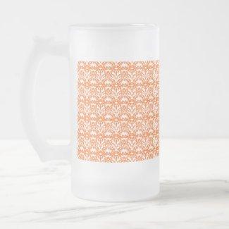 Orange Lace mug