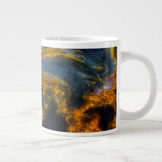 Orange Laced Pietersite Giant Coffee Mug